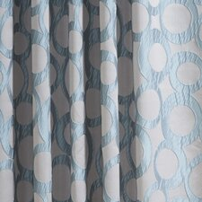 Jacquard Rod Pocket Curtain Panel Pair