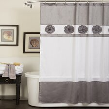 Polyester Seascape Shower Curtain