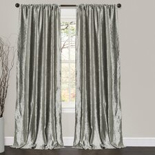 Velvet Dream Rod Pocket Curtain Single Panel