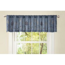 Butterfly Dreams Rod Pocket Tailored Curtain Valance