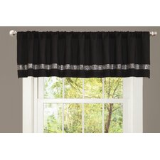 Night Sky Rod Pocket Tailored Curtain Valance