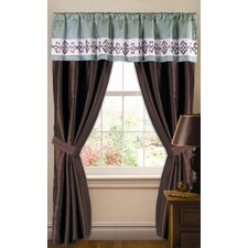 Abigail Rod Pocket Curtain Single Panel