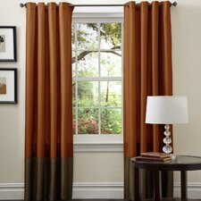 Prima Rod Pocket Curtain Panel Pair