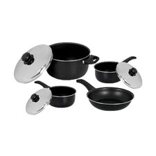 Radiance Aluminum 7-Piece Cookware Set