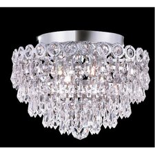 "Century 4 Light 12"" Semi Flush Mount"