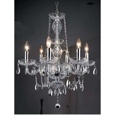 Princeton 6 Light Chandelier