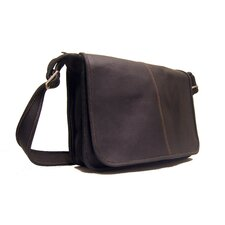 Distressed Leather Classic Messenger