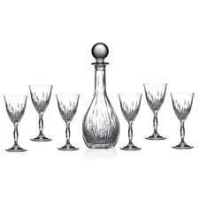 RCR Fire 7 Piece Liquor Glass Set