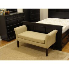 Decorative Fabric Bedroom Bench