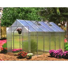 Monticello 8 x 12 ft. Quick Assembly Polycarbonate Greenhouse