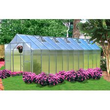 Monticello 8 x 24 ft. Premium Polycarbonate Commercial Greenhouse