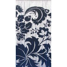 Natural Bamboo Floras Curtain Single Panel