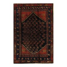 Kourd Black Tribal Rug