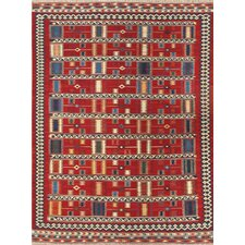 Kilim Red Tribal Rug
