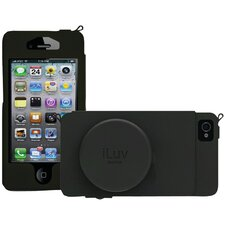 Leather Camera iPhone 5 Case