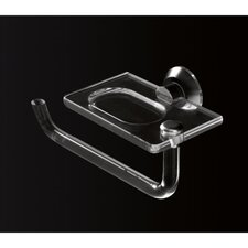 Soap Dish with Swivel Towel Rack