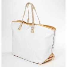 Carina Large Tote in White
