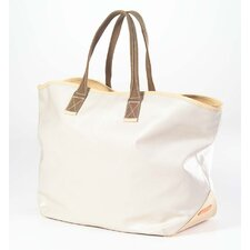 Carina Large Tote in Stone