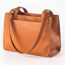 Leather Tab Shopper
