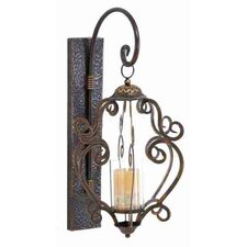 Loft Metal Glass Wall Mount Lantern