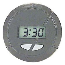 "1 5/8"" Stick-On Round Clock"