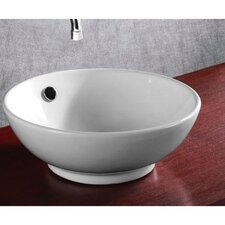 Ceramica Round Bathroom Sink