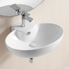 Ceramica II Wall Mounted Bathroom Sink