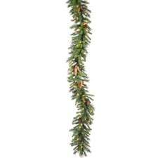 "Cheyenne Pine 600"" Cheyenne Garland with 300 Clear Lights"