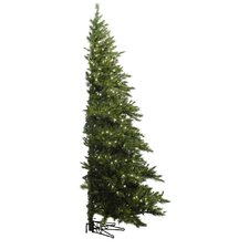 "Minnesota Pine Westbrook 6' 6"" Green Artificial Half Christmas Tree with Stand"