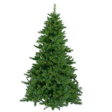 "Glacier Mixed Pine 7' 6"" Green Artificial Christmas Tree with 500 LED Warm White Lights with Stand"
