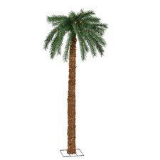 7' Palm Tree with Clear Lights