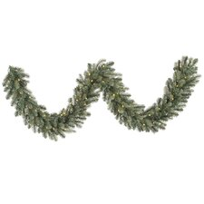 Colorado Spruce Garland with 80 LED Lights