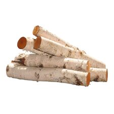Birch Log Bundle Tree