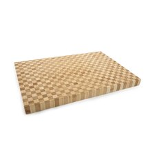 Pro Chef Rectangle Checker Large Chop Block in Natural
