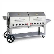 "72"" Natural Gas Grill On Cart"