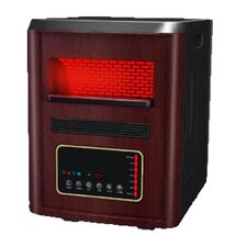 Infrared Cabinet 5,600 BTU Space Heater with Remote Control