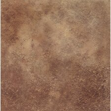 "DuraCeramic Terano 15"" x 15"" Vinyl Tile in Cinnamon"
