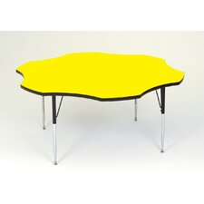 Flower Shaped Activity Table with Standard Legs