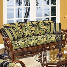 Amarillo Sofa with Cushions