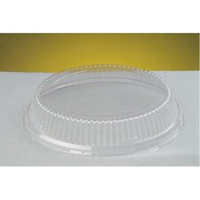 "Plastic Lids Fits All 10"" Plates in Clear"