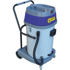 20 Gallon Poly Tank Mercury Storm Wet/Dry Tank Vacuum with Dual Motor