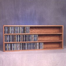 300 Series 354 CD Wall Mounted Multimedia Storage Rack