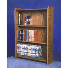 300 Series 120 DVD Multimedia Storage Rack