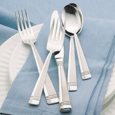 Amsterdam 45 Piece Premium Tier Flatware Set