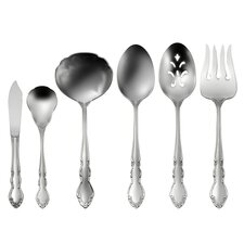 Satin Dover 6 Piece Serving Set