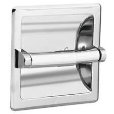 Recessed Fixtures Toilet Paper Holder in Triple Plated Polished Chrome