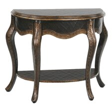 Sintra Open Demilune Console Table