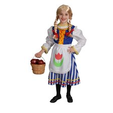 Deluxe Dutch Girl Children's Costume