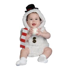 Baby Plush Snow Man Costume