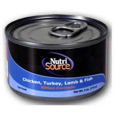 Chicken/Turkey/Lamb/Fish Kitten Food (5-oz, case of 12)